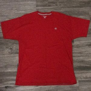 Champion red t-shirt NWOT